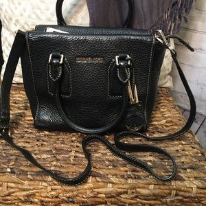 Michael Kors pebbled leather handbag